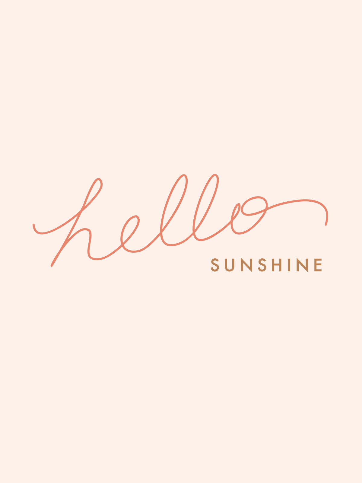 Classy Wallpapers For Iphone Hello Sunshine Wallpaper Download