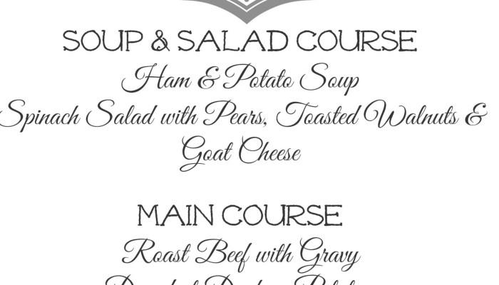 Downton Abbey Premier Dinner Party Season 4
