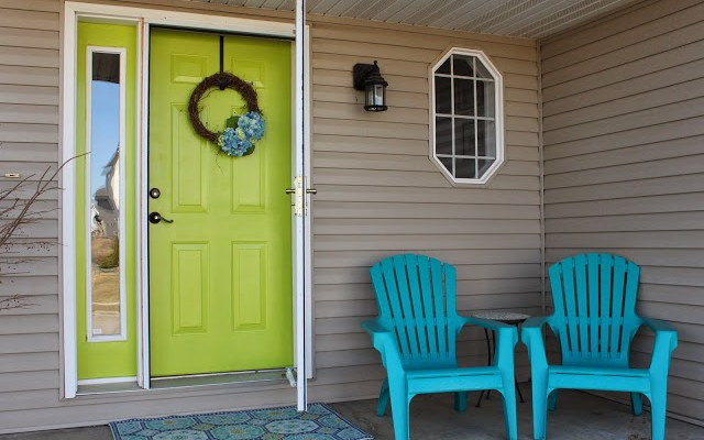 Spring on the Front Door