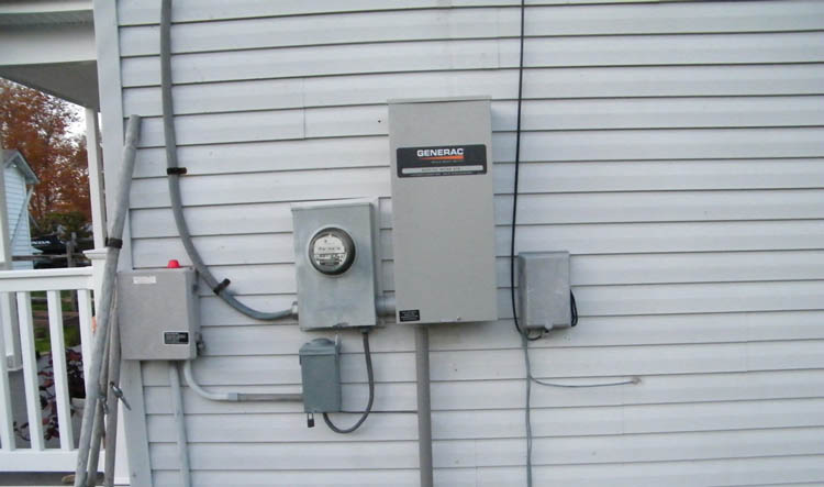 Electrical USA, Inc - Generac 200 Amp Transfer switch servicing the