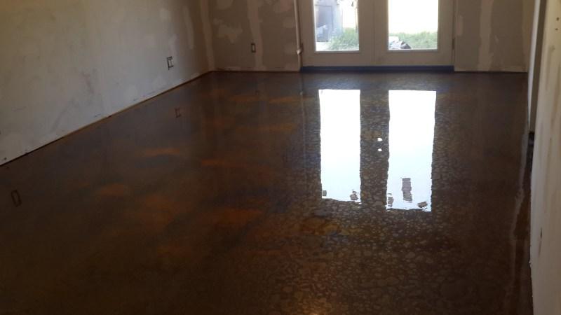 Large Of Metallic Epoxy Floor