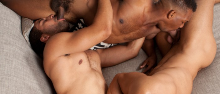 3 Way – Sean Zevran, Adrian Hart & Robert Craig @ RandyBlue.com