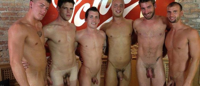 Milwaukee ORGY! – Antonio Paul, Brendon Scott, Corbin Riley, Dustin Tyler, Jake Matthews & Shawn Andrews