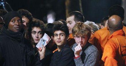 Rolling stones secret gig In Paris