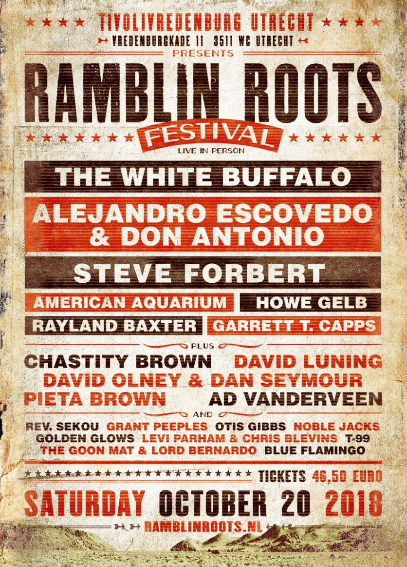 Ramblin' Roots Poster