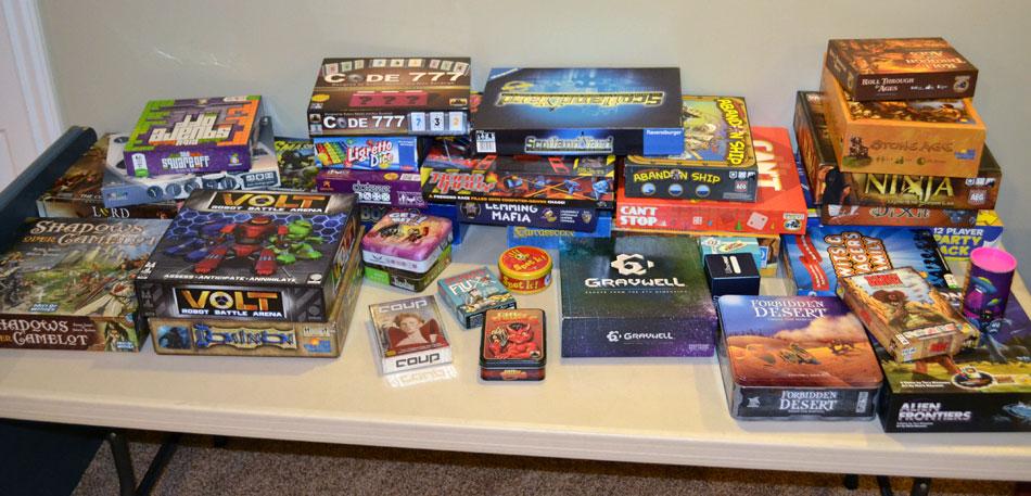 All set for Game Design merit badge - The Board Game Family