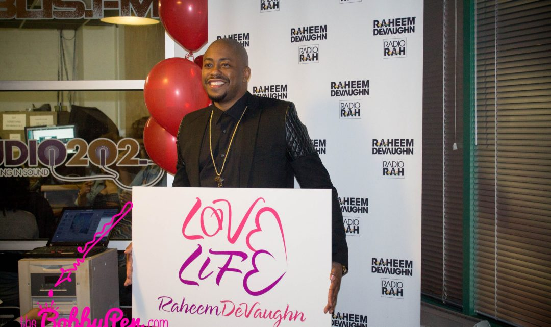 Raheem DeVaughn Launches Community Organization Love Life Foundation [VIDEO]