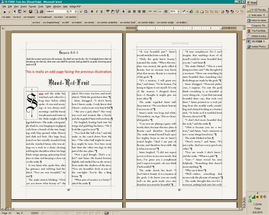 Book Design with Microsoft Word The Art of Moriah Jovan
