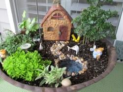 Small Of Fairy Garden For Kids