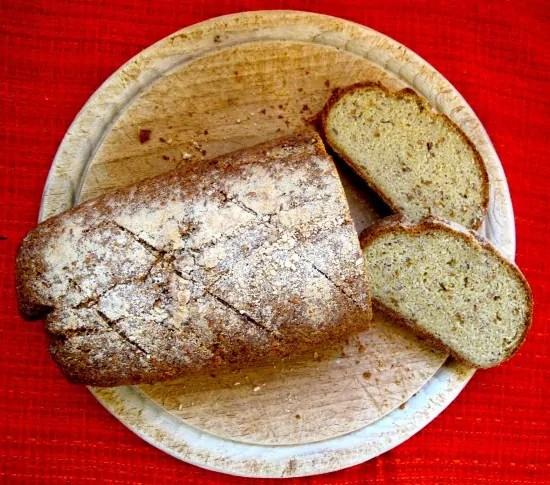 Paleo Dan's Old Fashioned White Bread