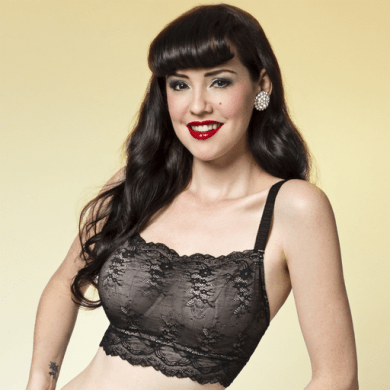 Dirty Dolls Film Noir Camisole Front