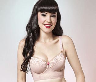 Dirty Dolls longline bra