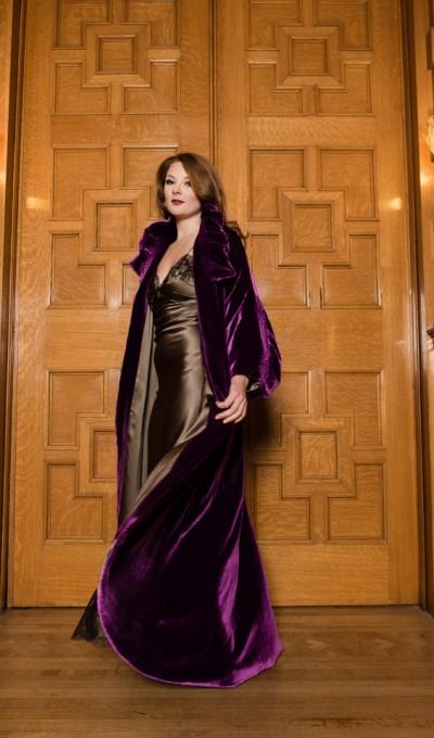Layneau Contessa silk robe