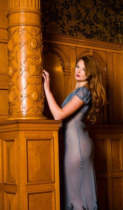 Layneau Contessa Silk gown