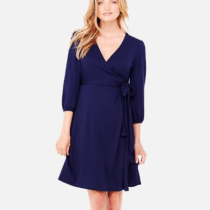 Ingrid & Isabel Nursing Friendly Maternity Wrap Dress