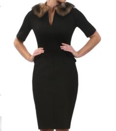 Saint Bustier Perry Peplum Dress