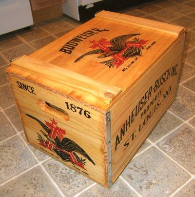 Anheuser-Busch Budweiser crate