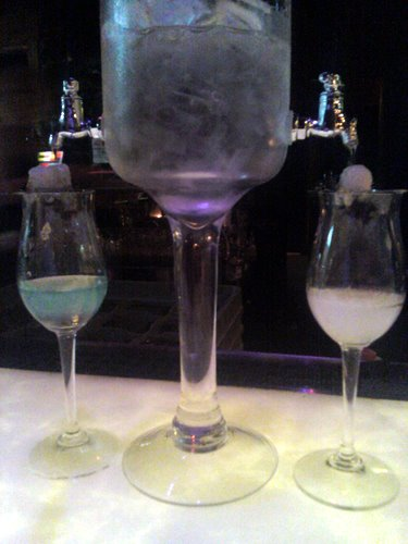 Two absinthes