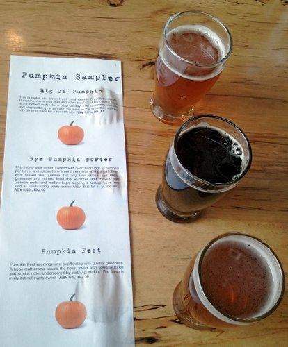 10 Barrel pumpkin flight