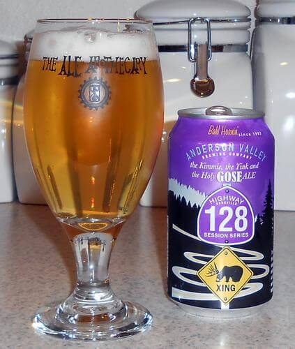 Anderson Valley Gose (no I am not trying to type out that ridiculously long name!)