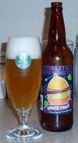 Coalition Brewing Space Fruit IPA