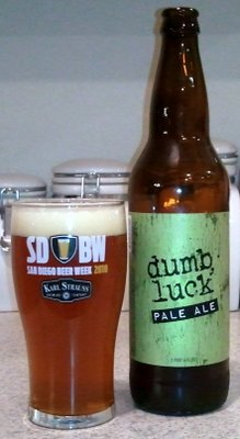 Lazy Boy Dumb Luck Pale Ale