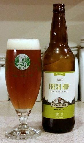 Two Beers Brewing Fresh Hop IPA