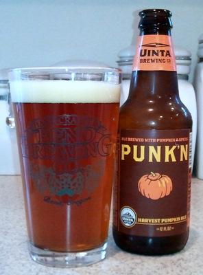 Uinta Brewing Punk'n