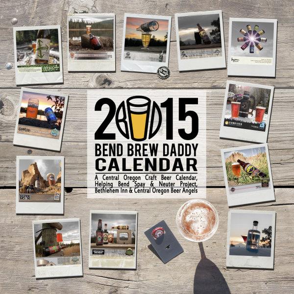 2015 Bend Brew Daddy Calendar