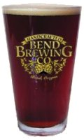 Bend Brewing Company pint of beer