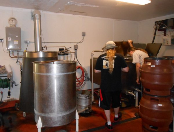 Brewers Union brewhouse