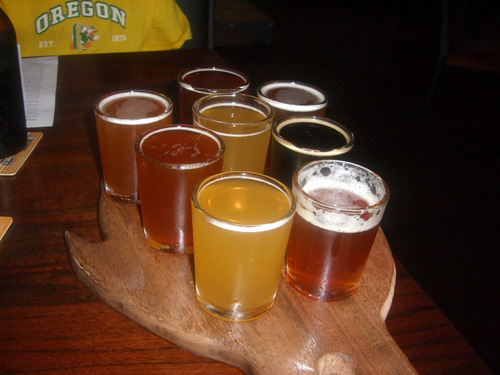 Burnside Brewing samplers