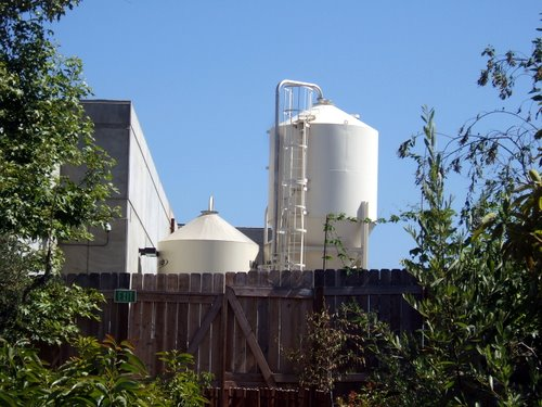 Stone Brewing fermenter tanks