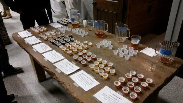 Bridge 99 beer samples