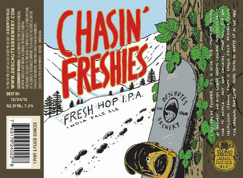 Chasin' Freshies label