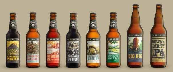 Deschutes Brewery beer lineup