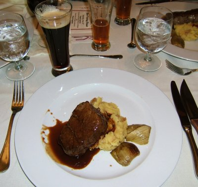 Deschutes Chocolate Beer Pairing Dinner: entree