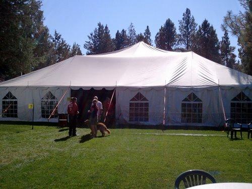 Sisters Fresh Hop Festival Tent