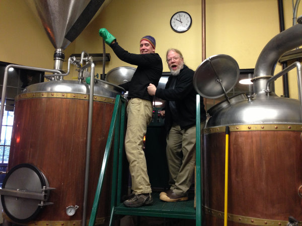 John Harris & Mark Vickery collaboration brew