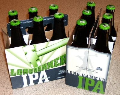 Long Hammer IPA six-packs