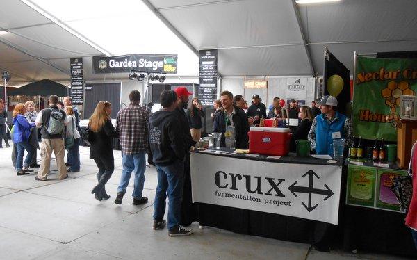 Oregon Garden Brewfest - Crux