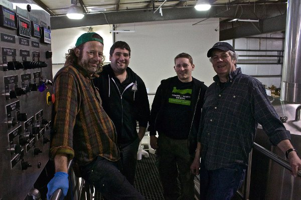 "Pat ""Patio"" Shea and the GoodLife/Terminal Gravity crew"
