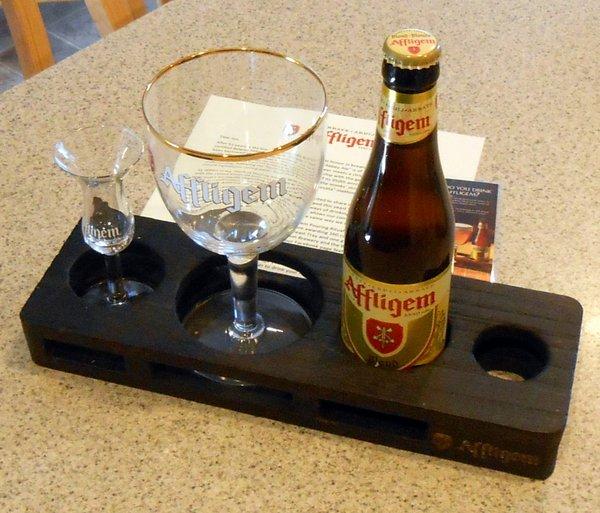 Affligem pouring tray