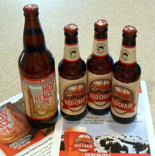 Deschutes Brewery Hop Henge and Red Chair NWPA
