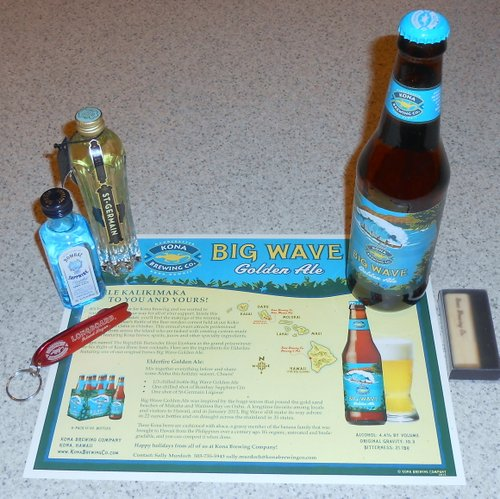 Kona Brewing PR package