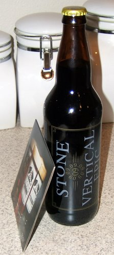 Stone Brewing Vertical Epic 09-09-09
