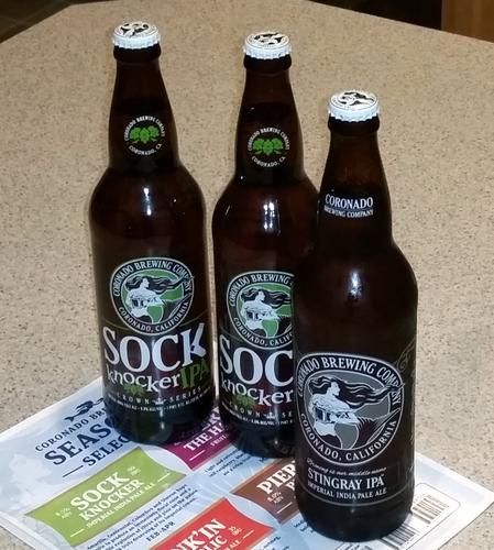 Received: Coronado Brewing IPAs