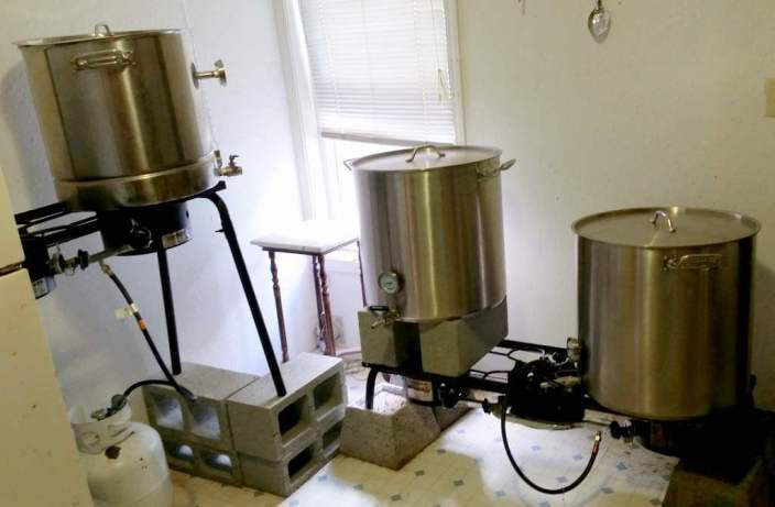Steens Mountain Brewing system