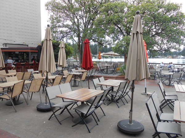 Stickmen Brewery patio