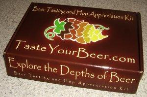 TasteYourBeer.com kit package